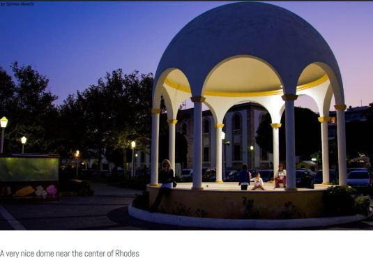 A Lovely Dome near Rhodes, Patmos