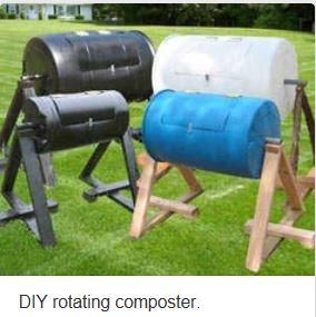 DIY Rotating composter
