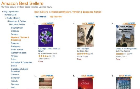 #1 bestseller on Amazon kindle.com