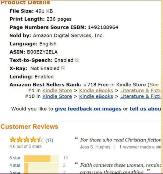 #1 bestseller at Amazon.com in May.....only 99 cents throughout the month of May