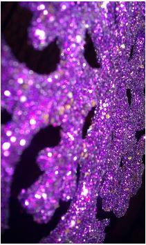 Glistening purple