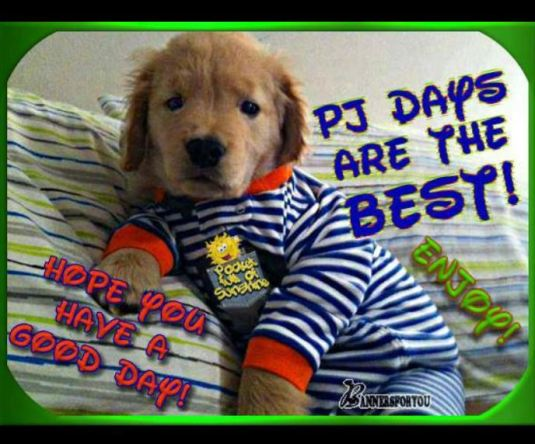 PJ days are the best