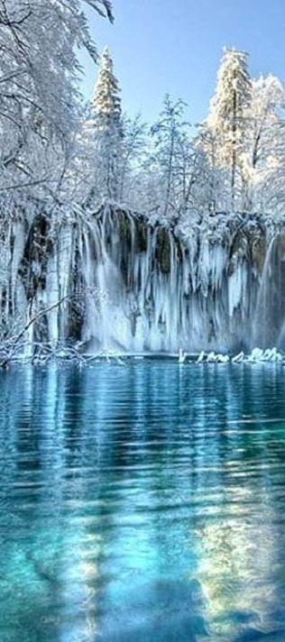 Wintry Falls