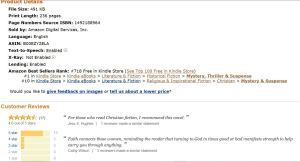 #1 in Kindle Sales May 12th, 2014
